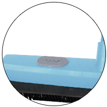 Grommet Holes for sweeper pads wet and dry cleaning on floors walls glasses windows doors outdoor