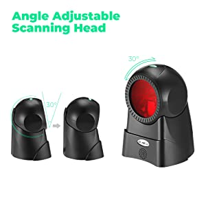 Wired usb 1d barcode scanner