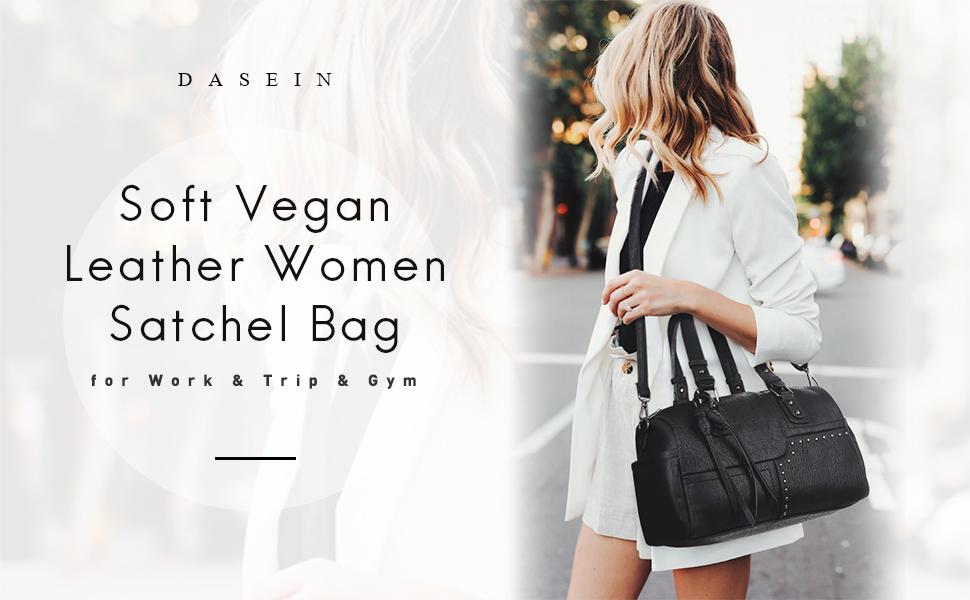 women barrel satchel bag