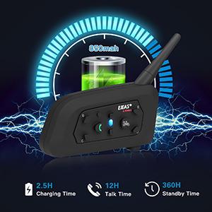 850mAh Battery Capacity