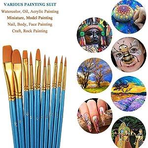 Multi-purpose Painting Brushes