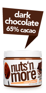Nuts N More Dark Chocolate 65% Cacao Peanut Butter