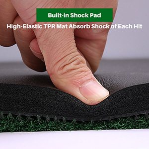 Golf mat commercial hitting turf practice driving premium turf backyard home use indoor outdoor