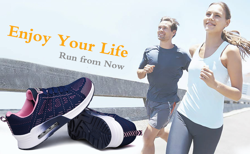 lanchengjieneng women trainers running shoes ladies sneakers tennis shoes black white purple blue