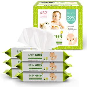 6 pack Unscented wipes