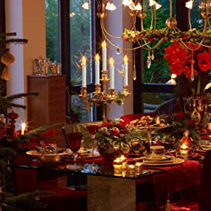 ideal decoration for dinner table, church, birthday, wedding, Christmas, Halloween decoration