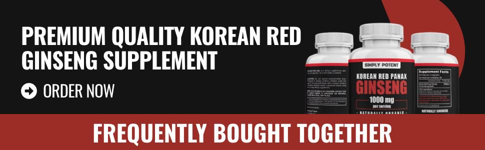 Simply Potent Korean Red Panax Ginseng