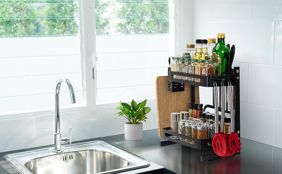 Counter Storage Shelf