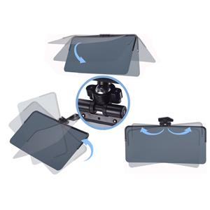 360 degree roation adjustment visor