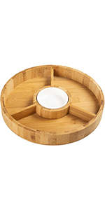 Chip and Dip Serving Bowl
