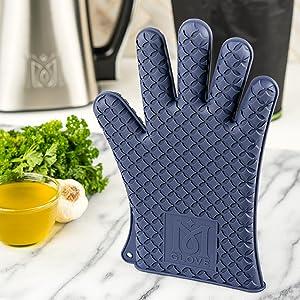 MagicalButter, silicone glove, oven mitt, oven safe