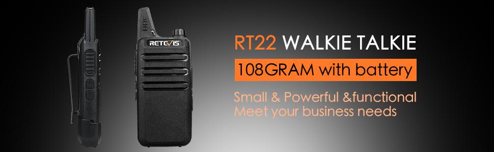 mini and lightweight walkie talkies