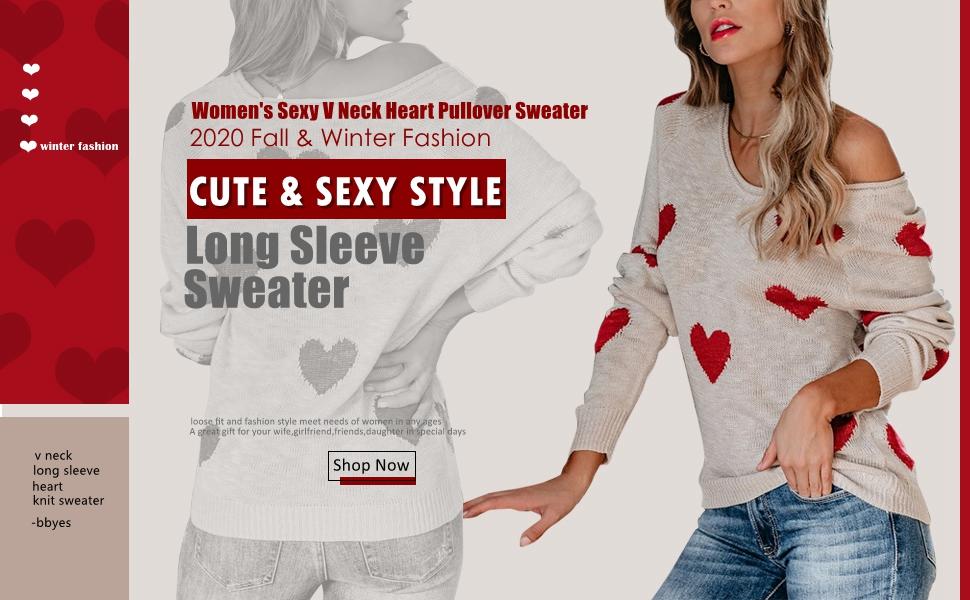 v neck sweater for women