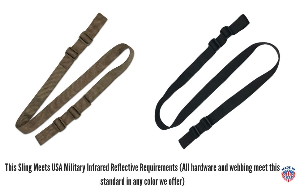 Multiple Color IRR Standard Meet Berry Compliance Military Issue Style Sling