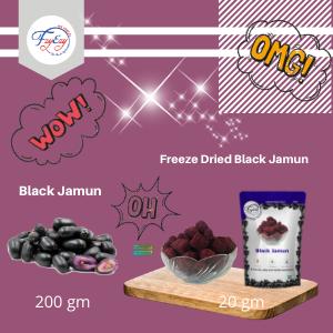 Freeze Dried Black Jamun