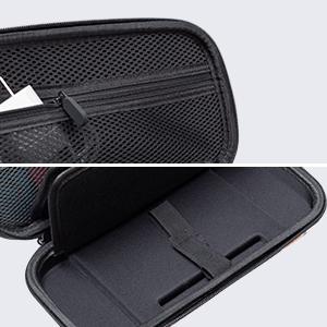 Mesh Pocket and Soften Zipper