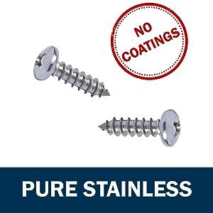 Stainless Steel Pan Head Wood Screws