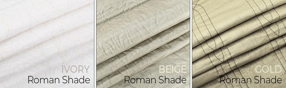 Roman Blind comparison