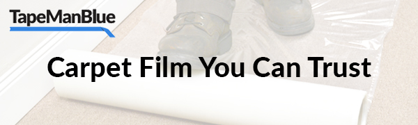 TapeManBlue Carpet Protection Film