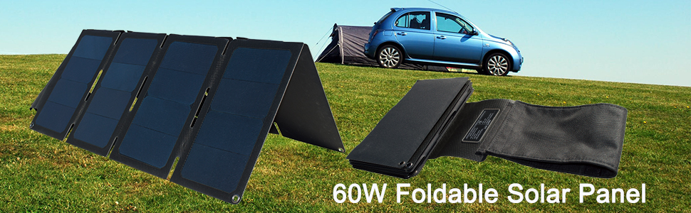 solar charger for camping camper