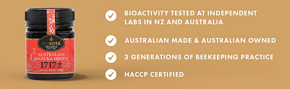 Australian Certified Organic Honey