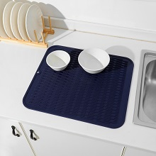 silicon dish drying mat for kitchen