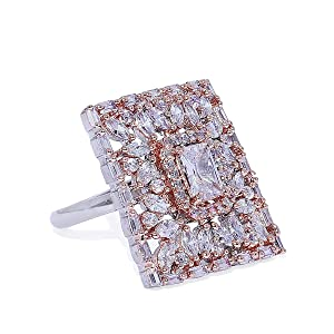 Cocktail Ring, Finger Ring For Women And Girls