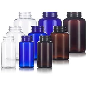 Packer Bottles Pill Holder Supplements Vitamins medication