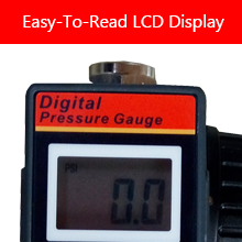 Easy-To-Read LCD Display