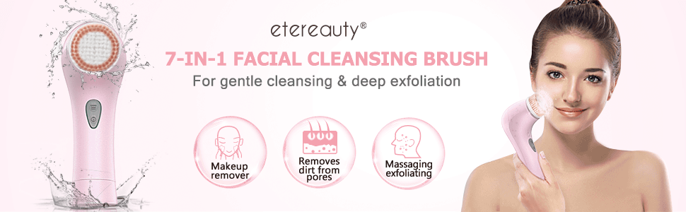 Facial cleanser brush