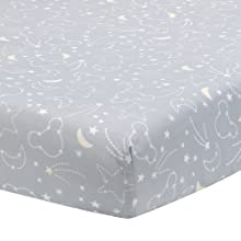 Mickey Mouse Celestial Fitted Crib Sheet