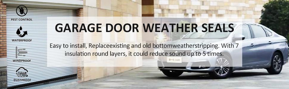 garage door seals bottom rubber