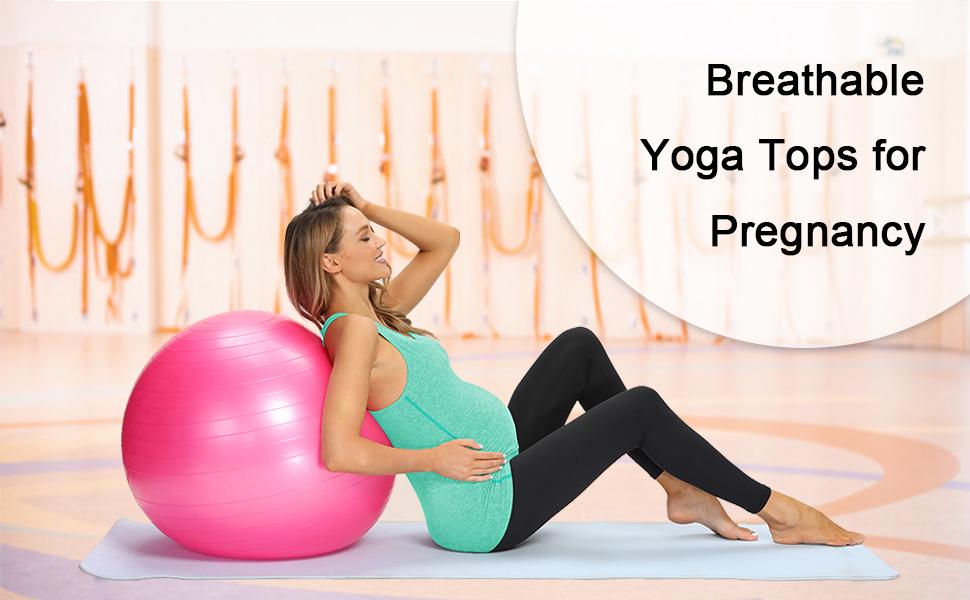 maternity yoga shirts