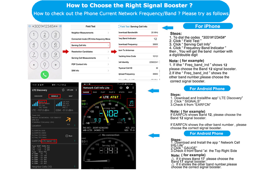 How do i choose the right signal booster