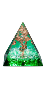 Handmade Tree of Life Orgone Pyramid Energy Generator
