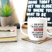 best sister sisters gift gifts coffee mug birthday Christmas