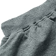 Sports shorts with elastic waist