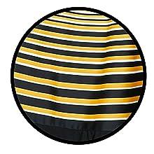 Stripe Design On Bottom Of Dress