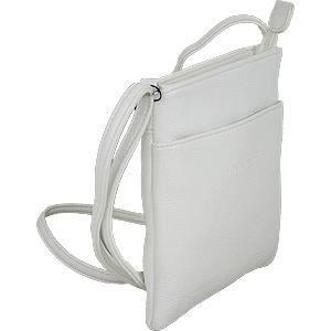 Damen Handtasche weiß klein elegant