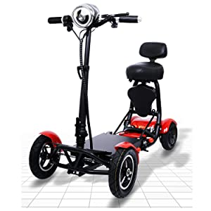 Red Mobility Scooters