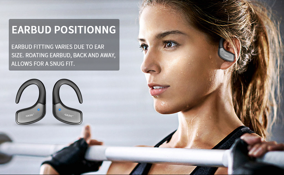 comfortable fit earbuds