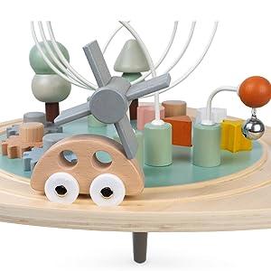 table d'activités sweet cocoon bois janod motricité