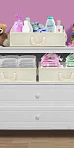 storage trapezoid basket bins