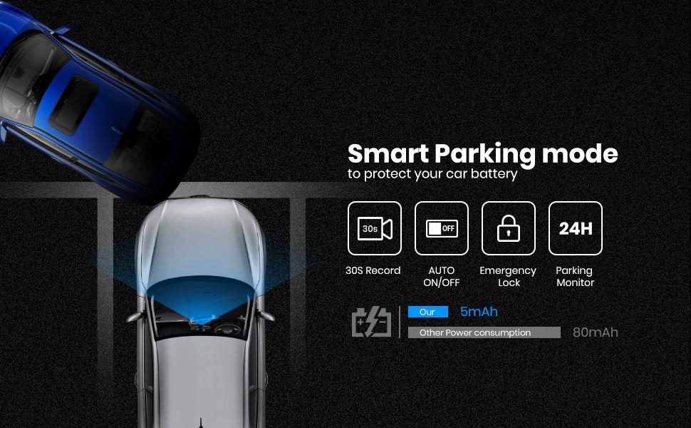 24 hours smart parking mode