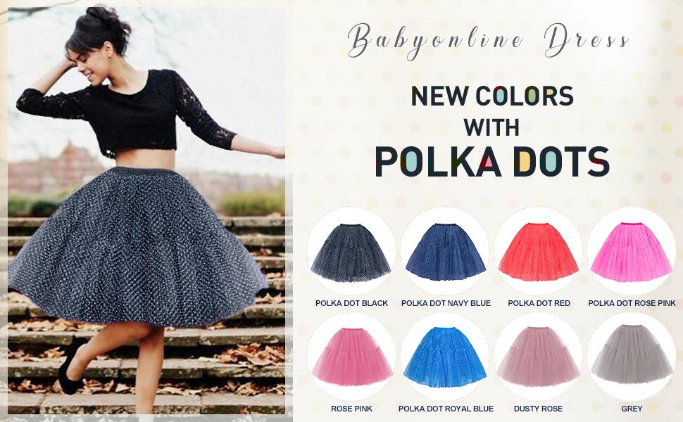 tulle skirt for women