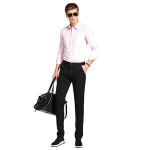 mens black dress pants