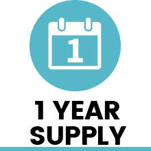 1 year supply