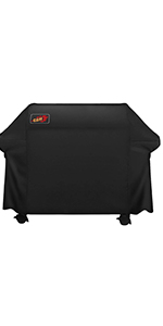 Barbecue Cover Omorc 72 Inch Waterproof Barbecue Covers With Pvc Coating Outdoor Bbq Cover 600d Heavy Duty Gas Grill Cover Rip Proof Uv Water Resistant Amazon Co Uk Garden Outdoors