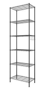 steel shelving rack