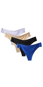 Women's Thongs Panty Bikini Underwear Ladies Sexy String Knichers Seamless